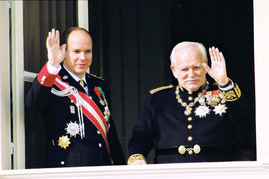 Князь Ренье и Альбер II
