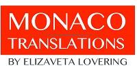 Monaco translation by Elizaveta Lovering