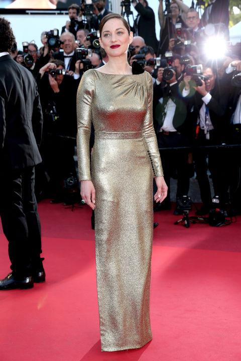 Марион Котийяр в наряде от Dior