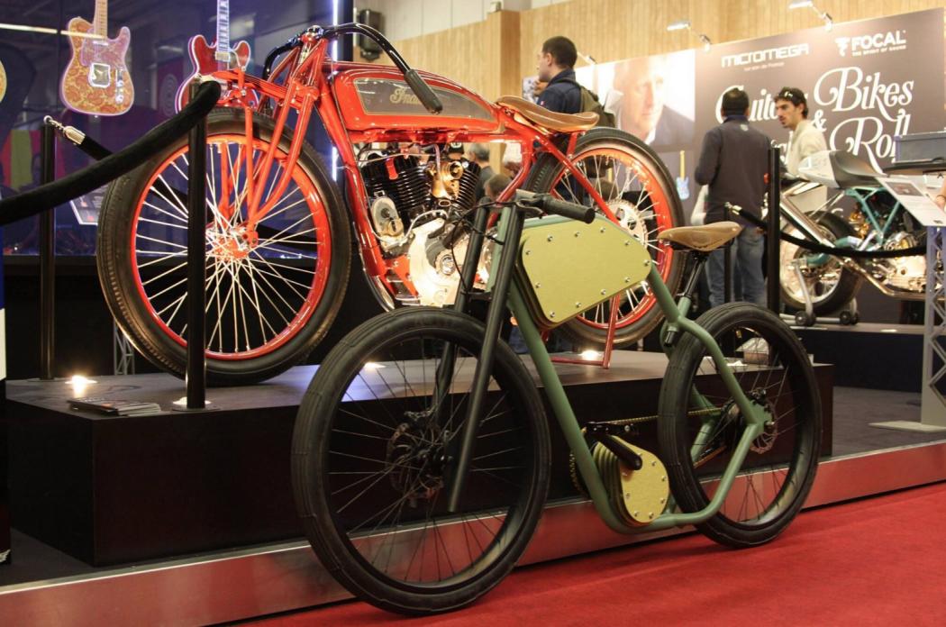 Велосипеды на выставке