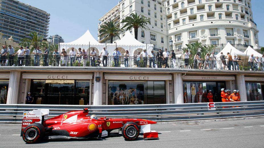 Заезд Формулы-1 в Монако