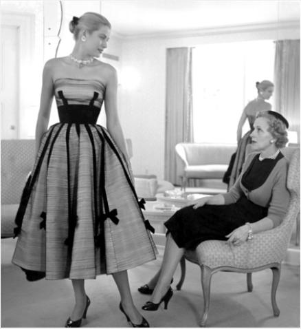 Грейс Келли с матерью Маргарет