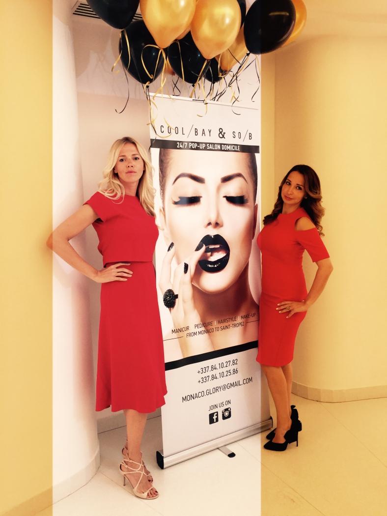 Сотрудники нового салона красоты в Монако