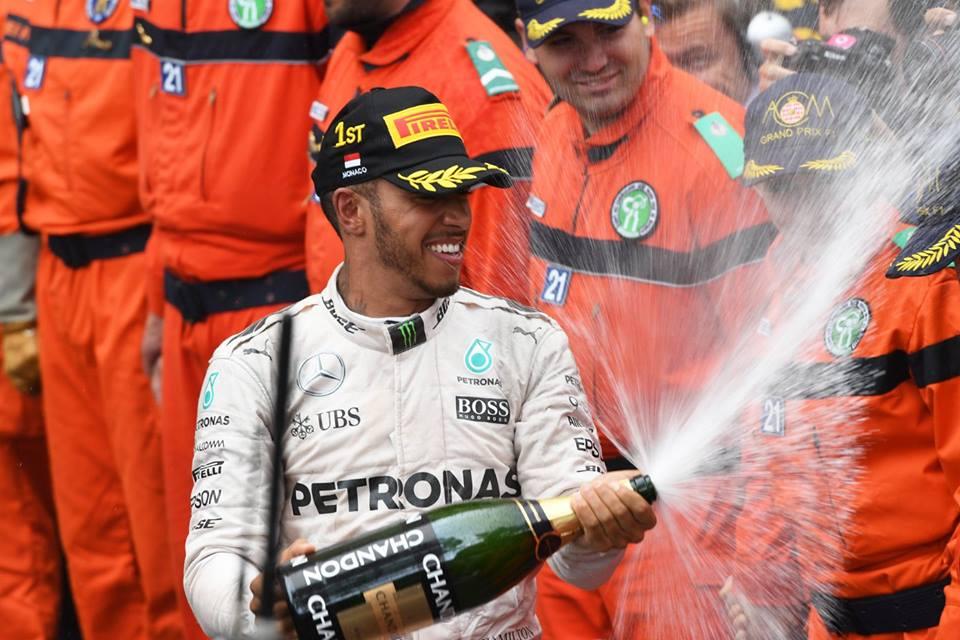 Льюис Хэмилтон - победитель Гран-при Монако-2016