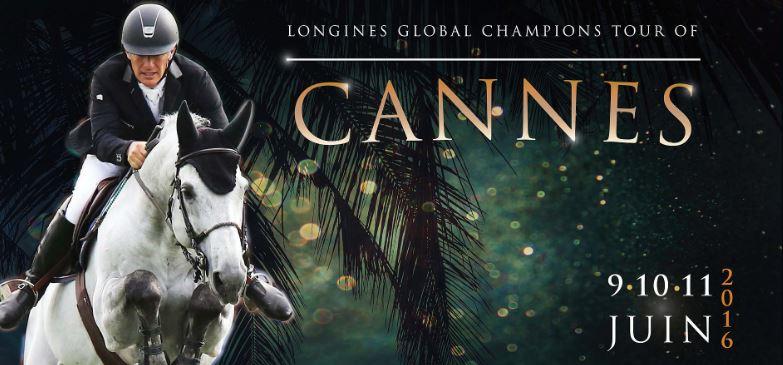 Соревнования по конкуру в Каннах