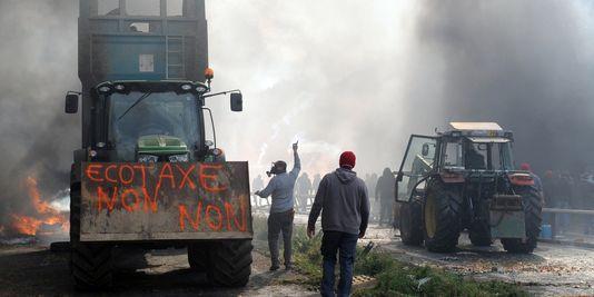 Забастовка перевозчиков