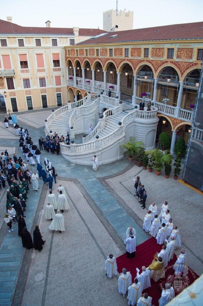 Княжеский двор во время праздника