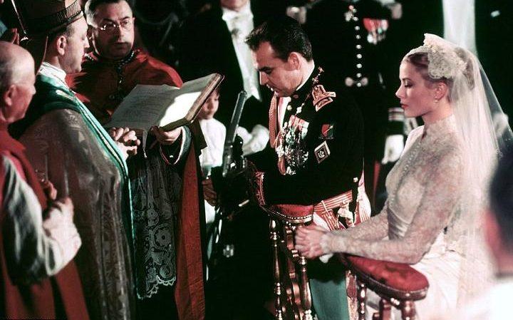 Свадьба Князя Ренье III и Грейс Келли