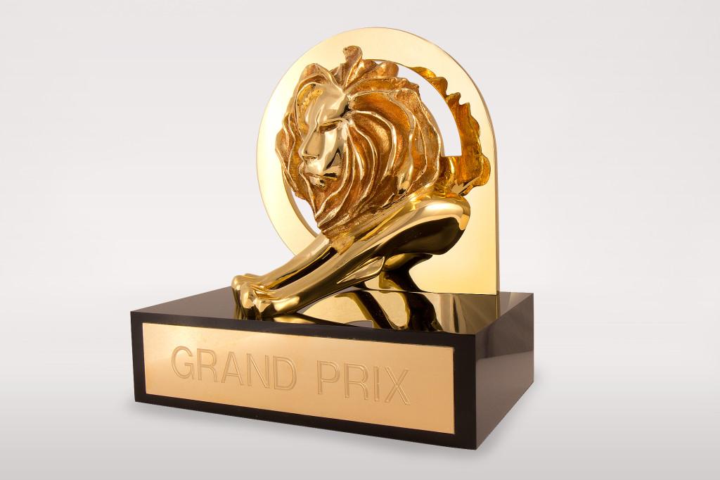 Приз Золотой Каннский Лев