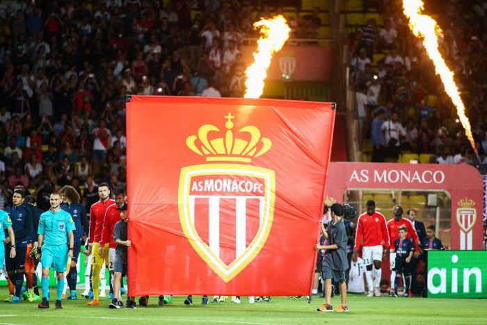 Футбольная команда AS Monaco