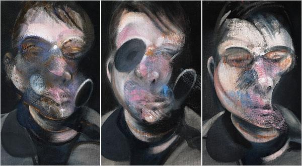 Триптих-автопортрет Бэкона