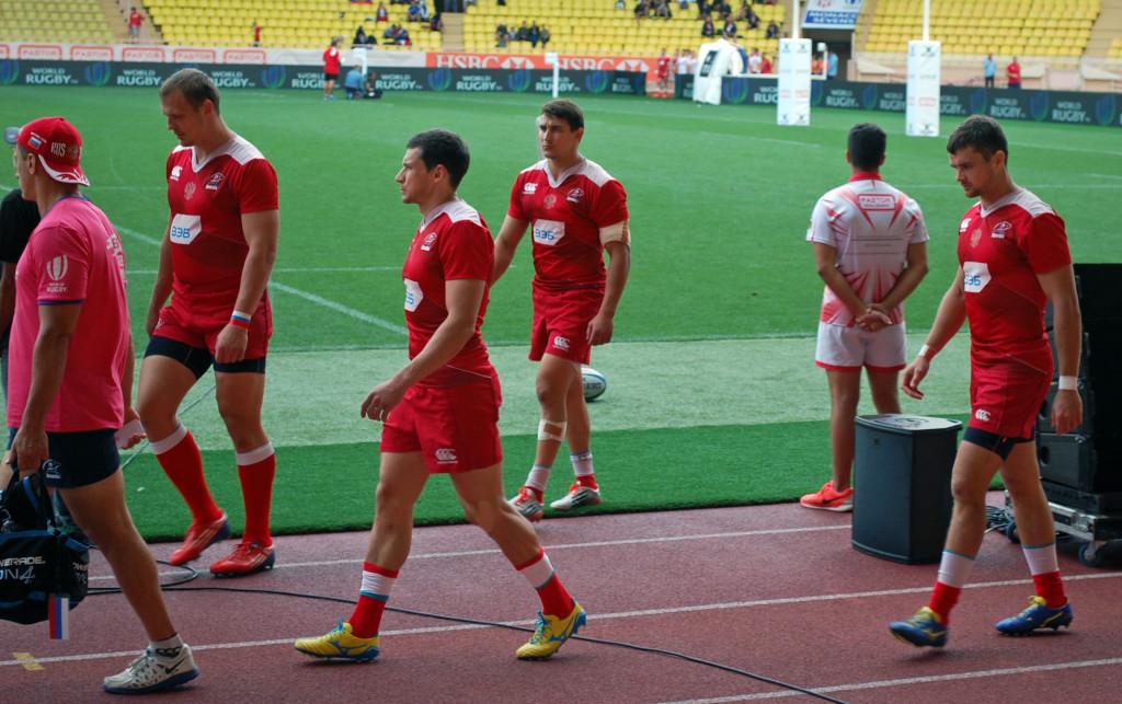 Русская сборная по регби -7 в Монако