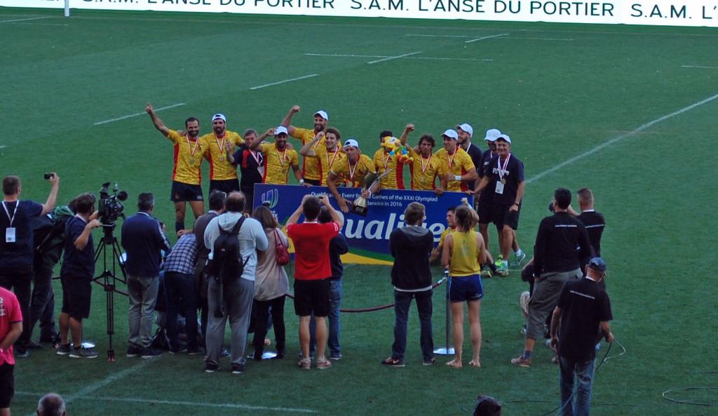 Сборная Испании победитель Monaco 7