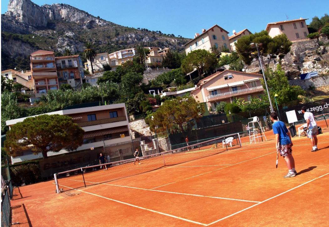 Занятие по теннису с детьми