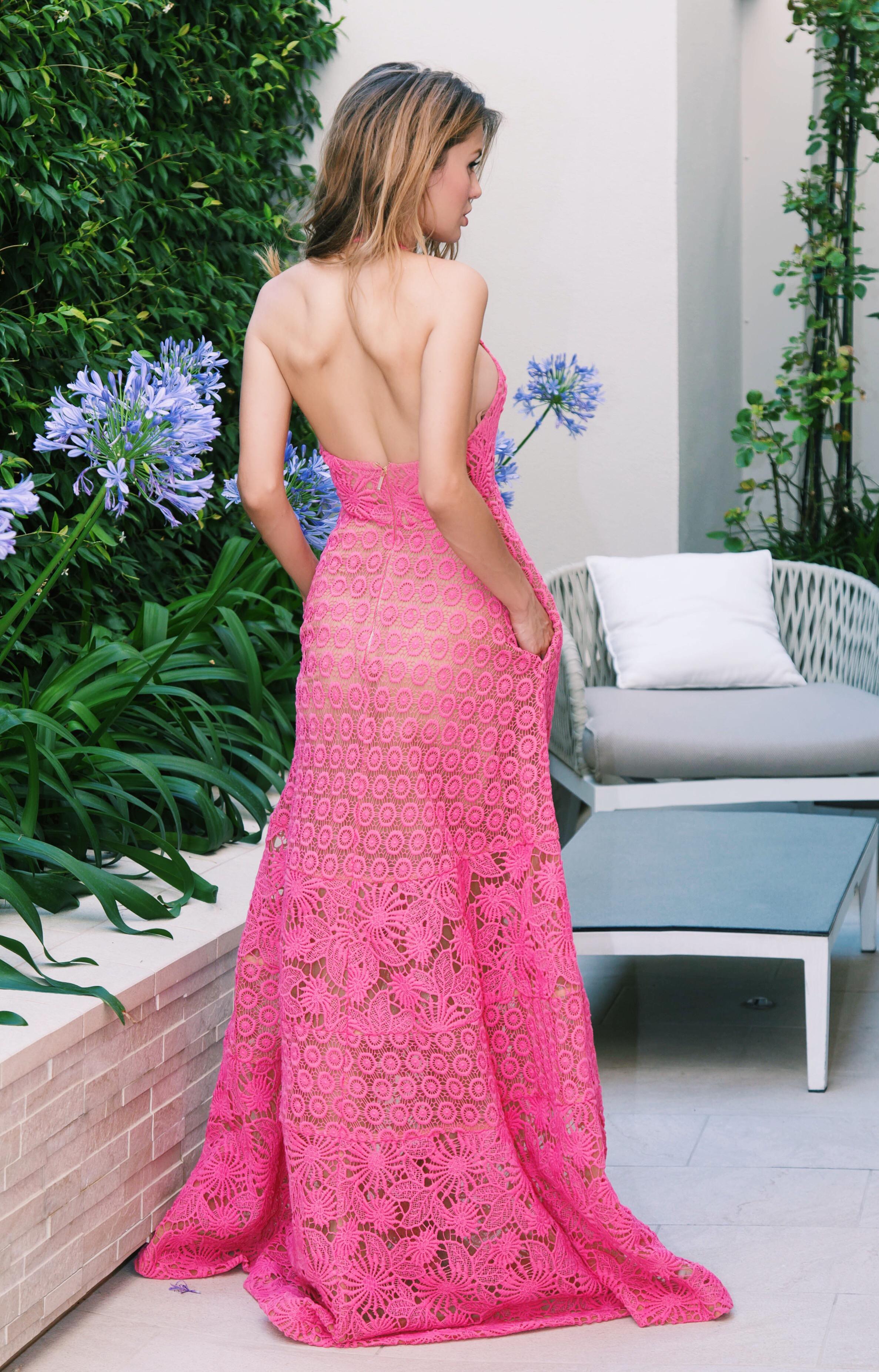 платье-сарафан ELIE SAAB