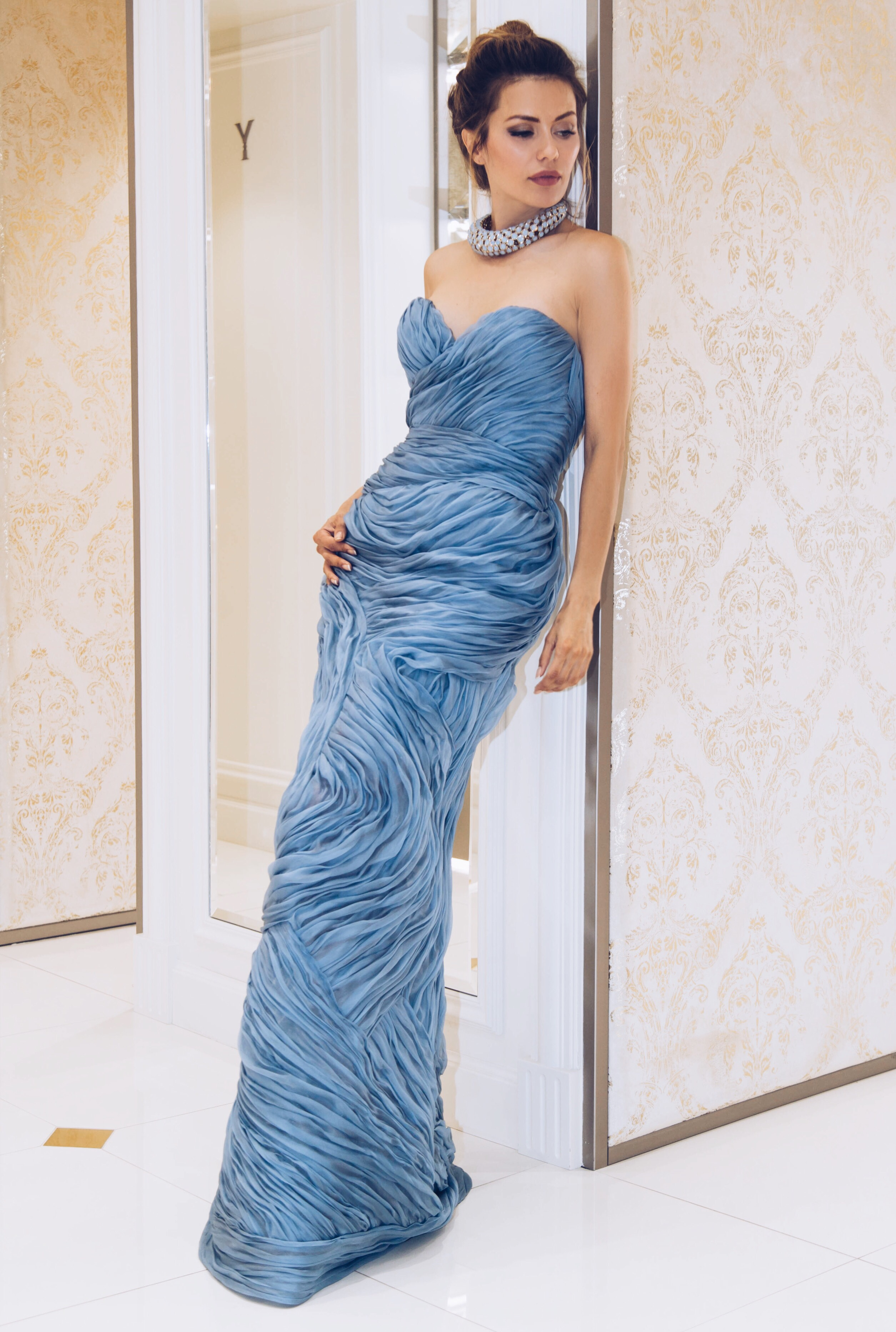 Платье-бюстье Ermanno Scervino