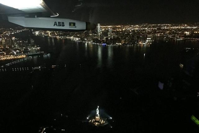 Solar Impulse 2 вылетел из Нью-Йорка