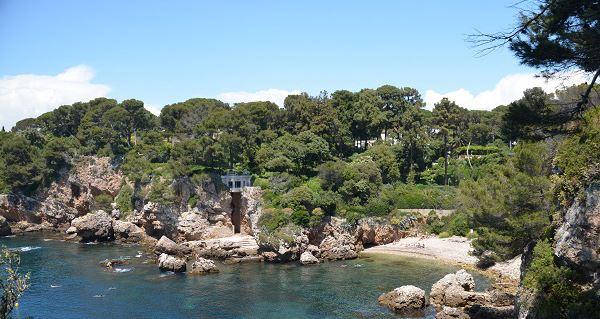 Пляж Baie des Milliardaires