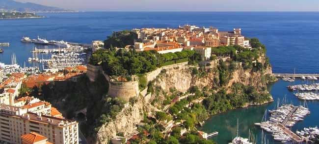 Пейзаж Монако
