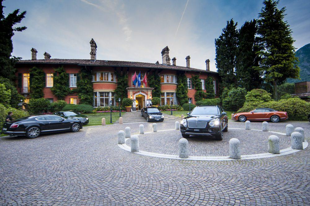 Спонсор Благотворительного бала Bentley Lugano