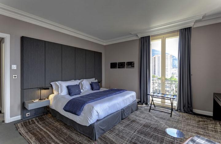 Спальня в номере Maserati