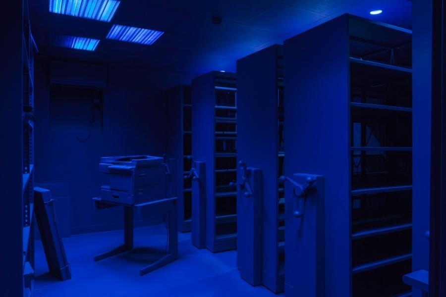 Синий дом изнутри