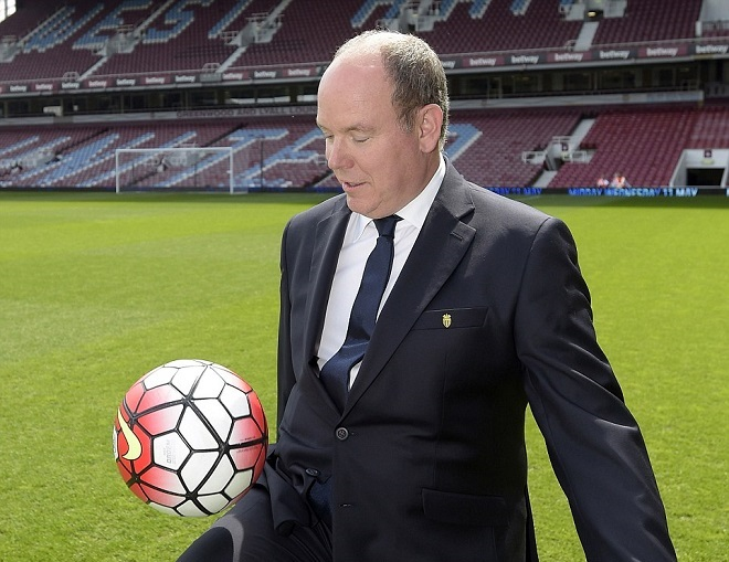 Клуб West Ham United князя Монако Альбера II