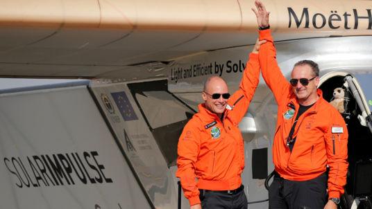 Пилоты Solar Impulse 2