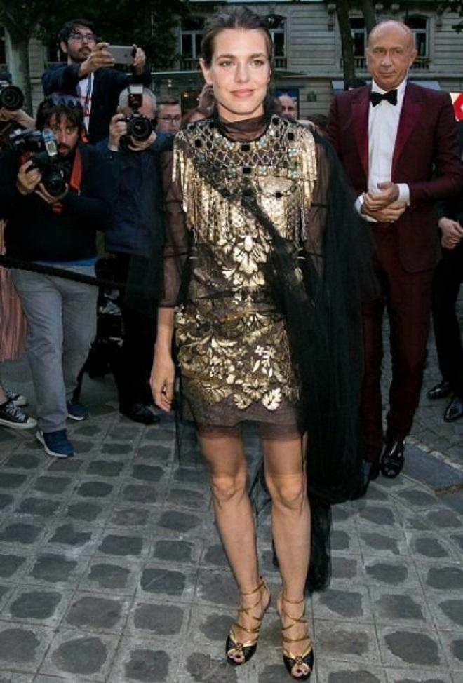 Шарлотта Казираги на Гала-ужине Фонда Vogue