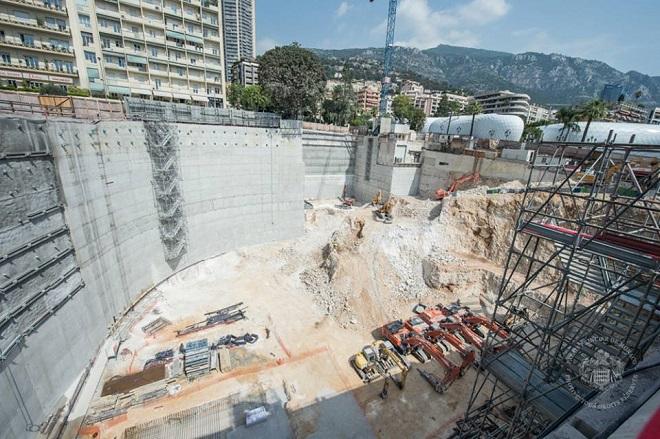 строительство «One Monte-Carlo»