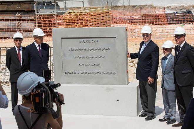 Открытие строительства квартала