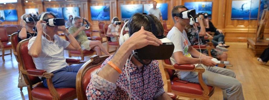 Очки-маска в Океанографическом Музее Монако