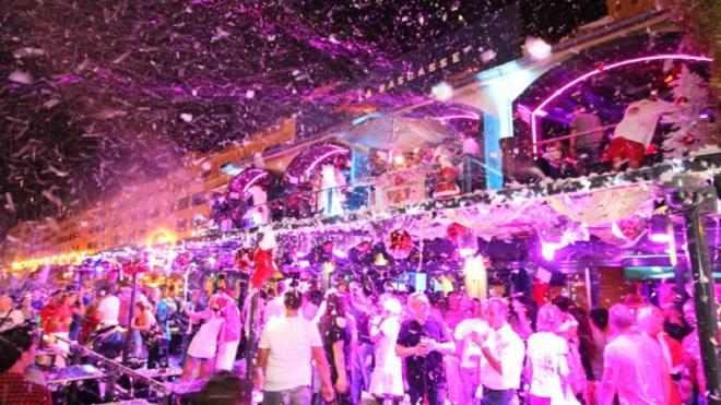 Рождественская вечеринка в La Rascasse