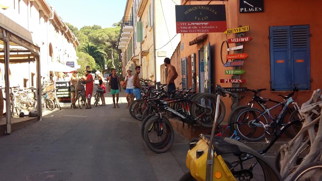 Велосипеды в Поркероле