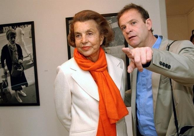 Лилиан Бетанкур и Франсуа-Мари Банье