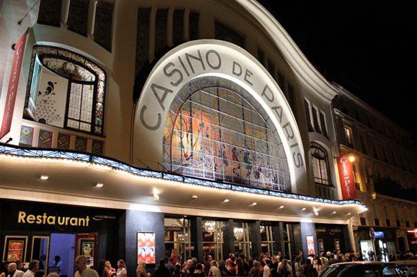 Август в Casino Cafe de Paris