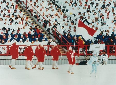 Команда Монако на Олимпийских Играх в Калгари