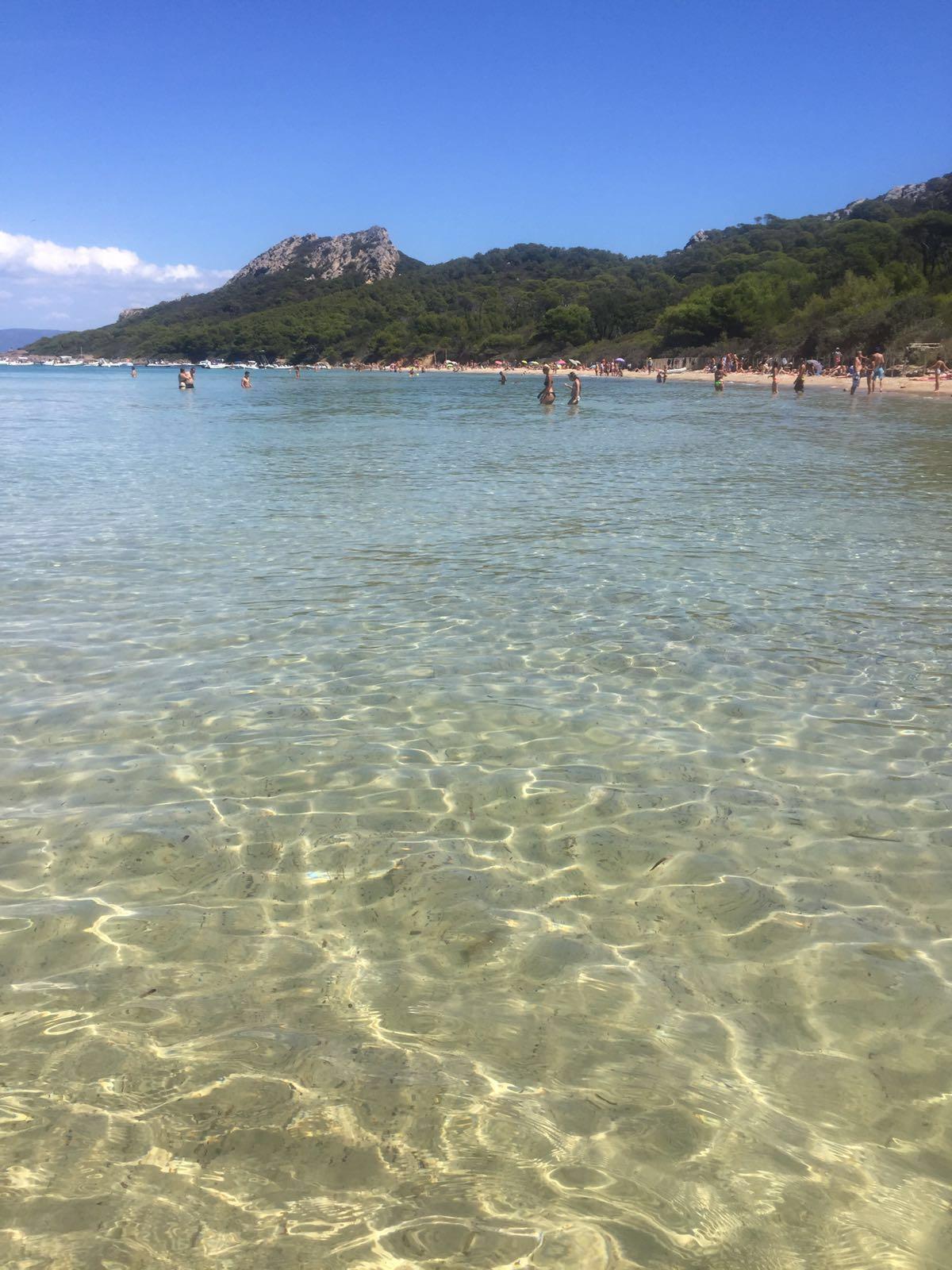 Море острова Поркероль