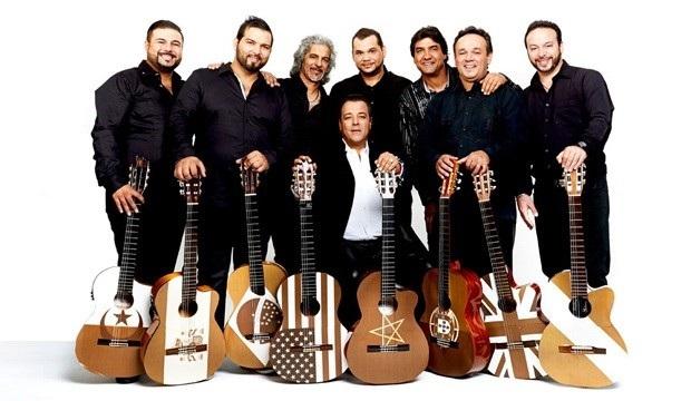 Чико и 50 цыган с гитарами в Спортинге Монте-Карло