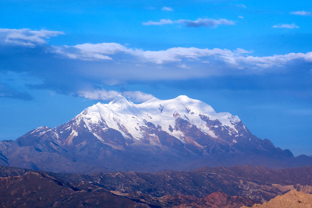 Ледник Ильимани в Боливии