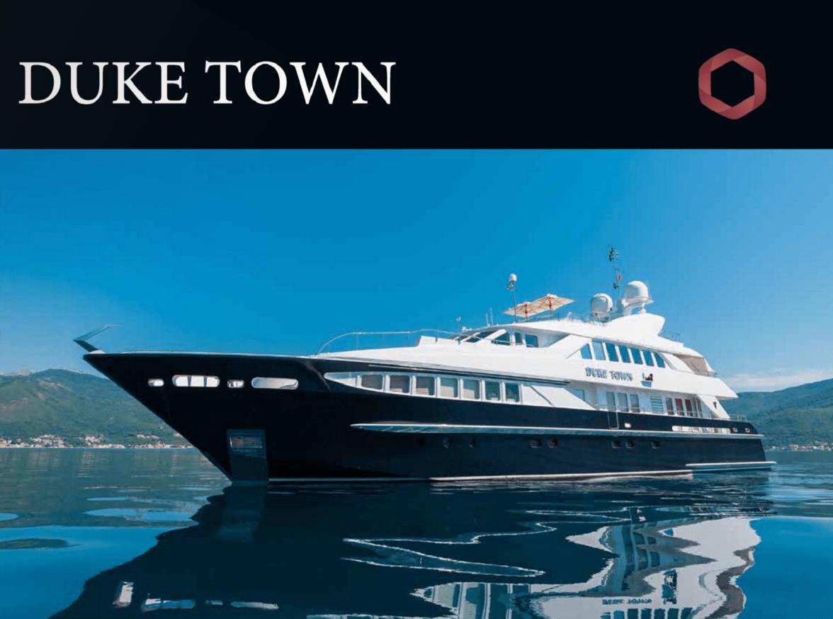 Аренда яхты Duke Town флота Titan Broker
