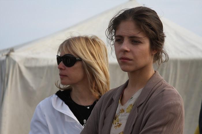 Вера Глаголева с Анной Нахапетовой