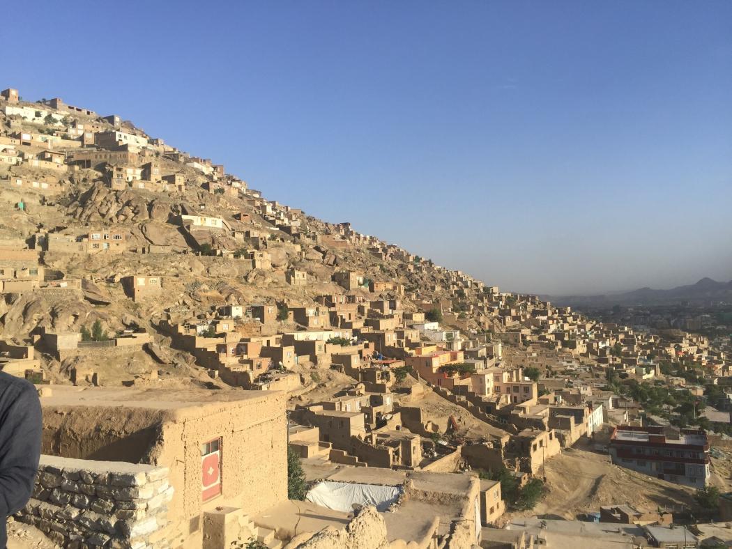 Съемки в Кабуле