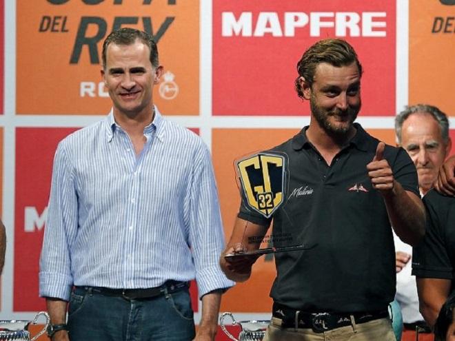 Пьер Казираги - победитель этапа регаты GC32 Racing Tour