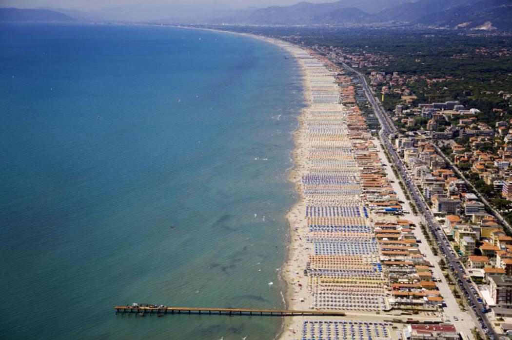 Песчаные пляжи Форте-дей-Марми