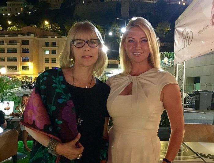 Вера Глаголева и Ольга Таран