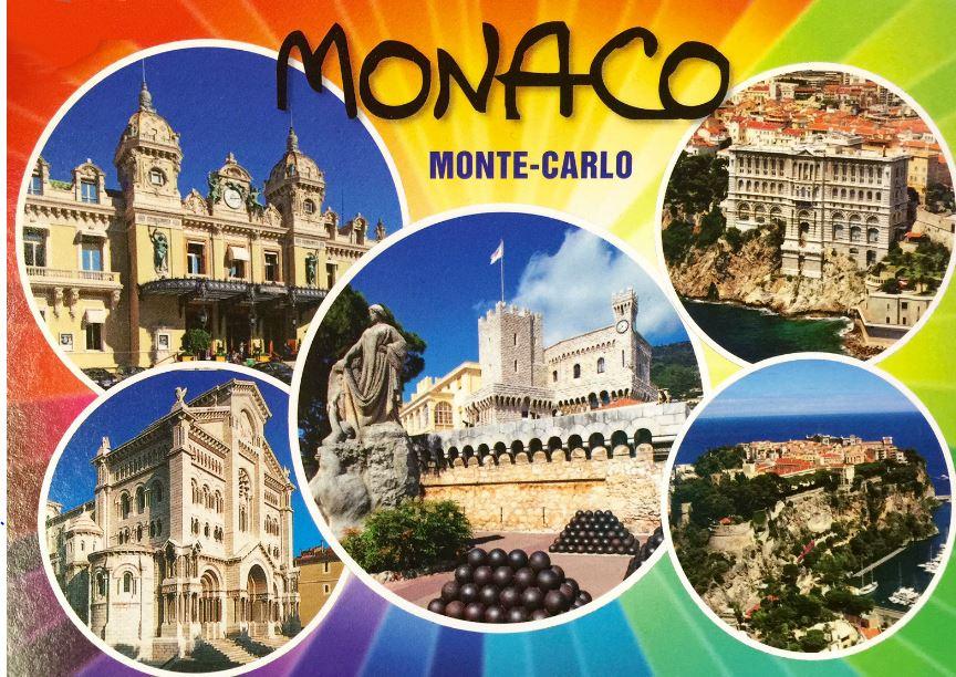 Мульти-открытка Княжества Монако