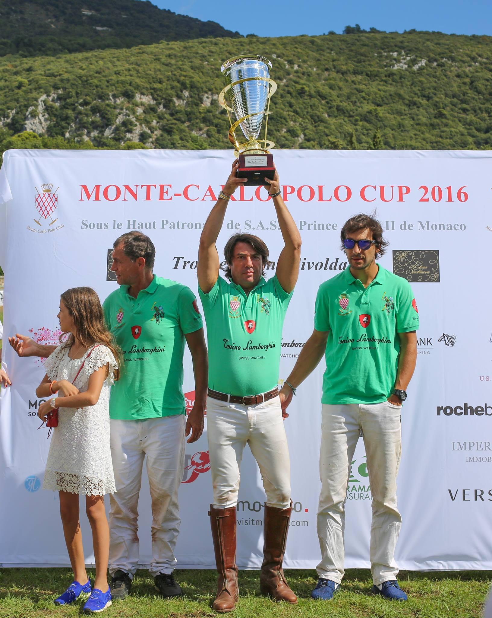 Бронза Кубка поло Монте-Карло-2016 у команды Lamborghini