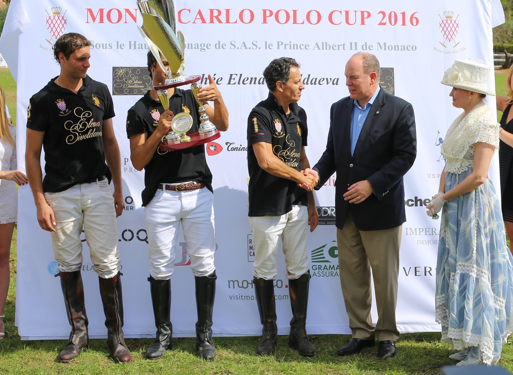 Победители Кубка поло Монте-Карло-2016 - команда Елены Сиволдаевой