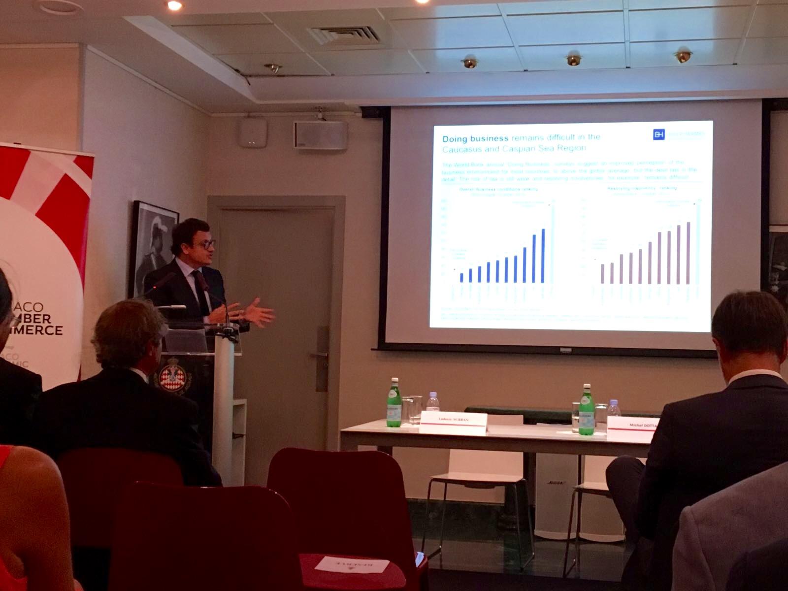 Экономическая конференция в Монако